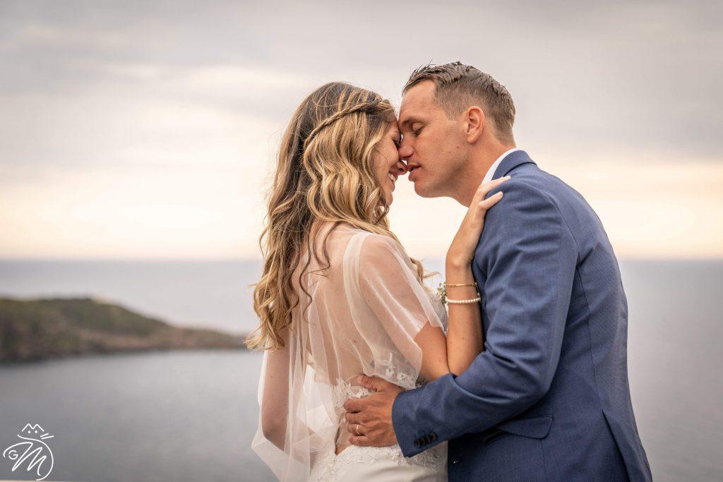 Matrimonio elegante e raffinato sull'isola di Ponza