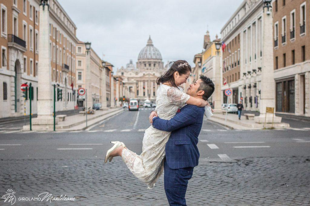 婚礼摄影师罗马意大利