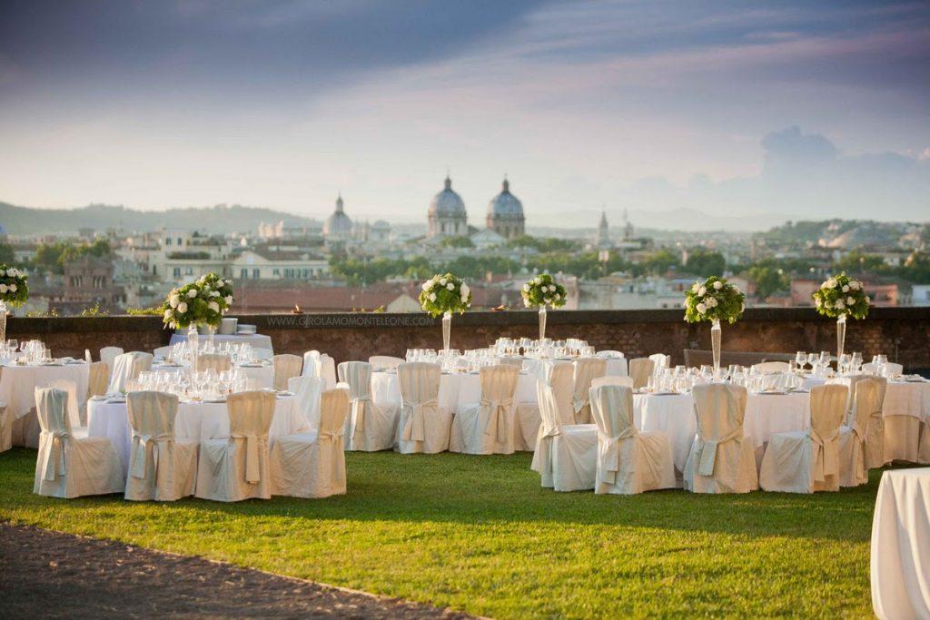 Tema matrimonio chic: Istituto Studi Romani