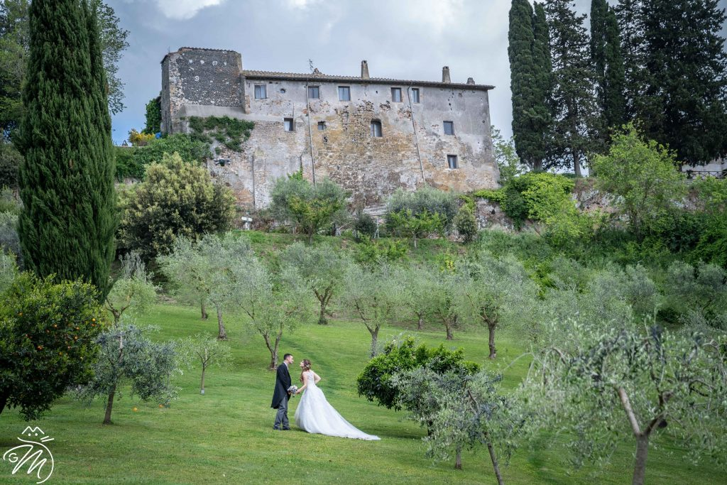 Borgo di Tragliata location matrimonio elegante