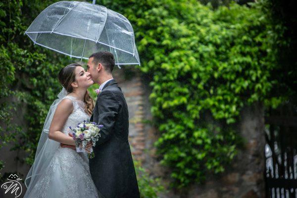 sposarsi a marzo: probabilità di pioggia