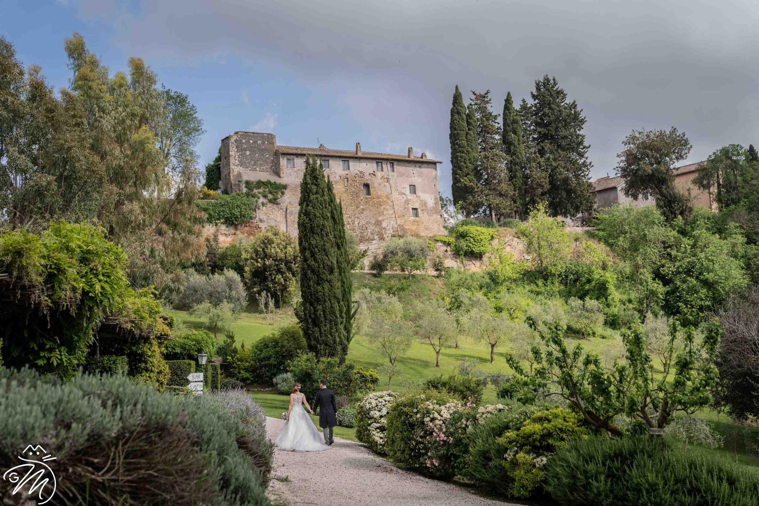 Location esclusiva per un matrimonio elegante: Borgo di Tragliata