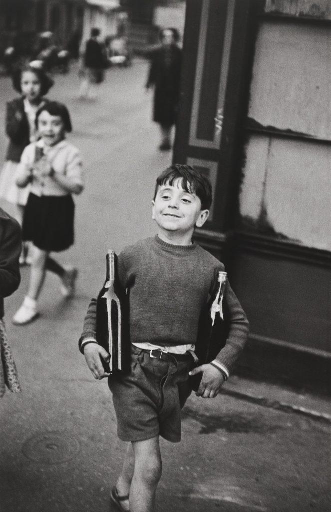 "Fotografie famose: Bresson ""Rue Mouffetard"""